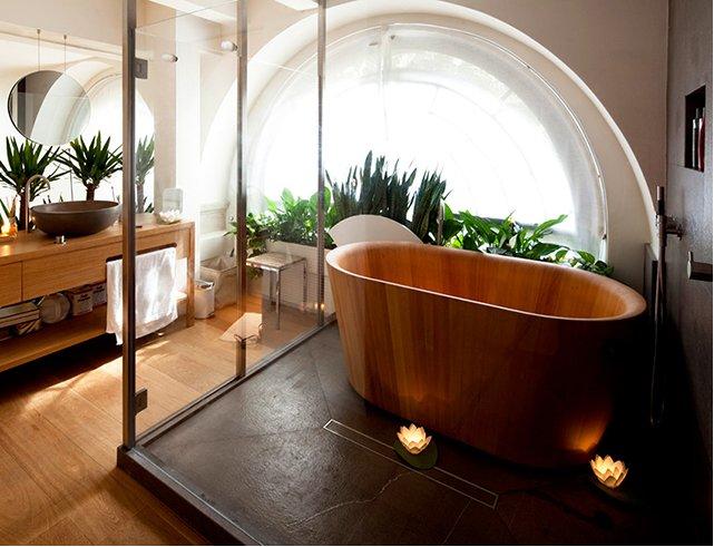 Quels rev tements muraux choisir pour votre salle de bain - Salle de bain ou bains ...