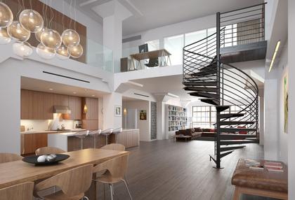 Escalier Mezzanine Studio