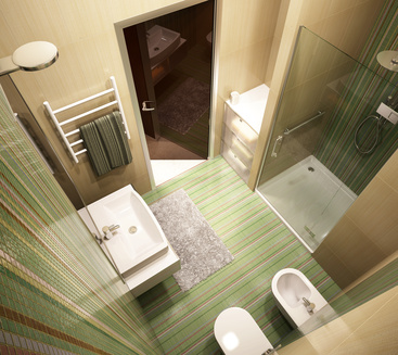 Une salle de bain ergonomique